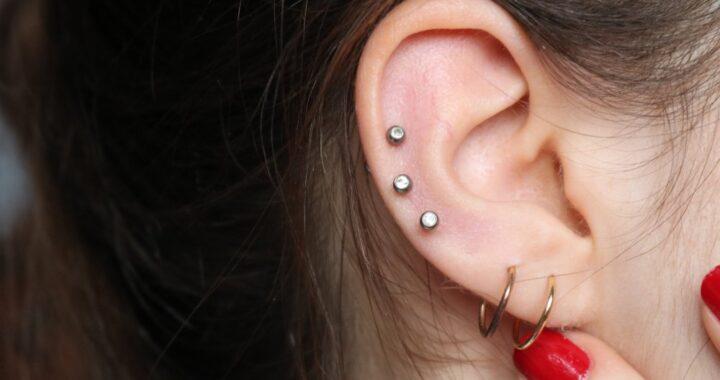 Undergoing Ear Piercing